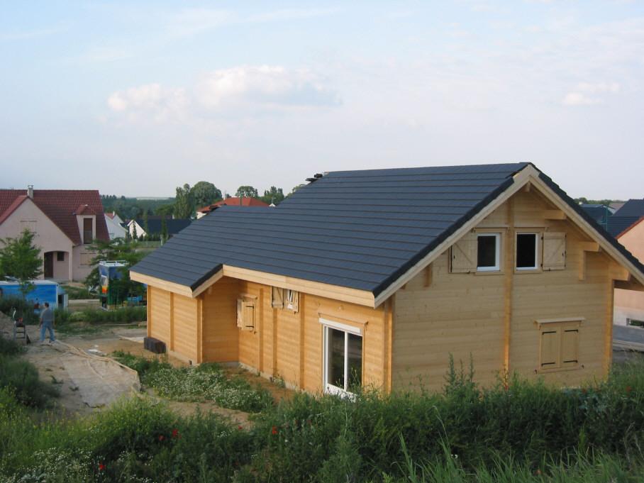 toutes lesétapes de la construction d'une maison en bois massif en madriers contrecollés de 100  # Chauvin Construction Bois